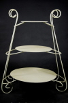 Rental store for Cake Stand, Ivory Gold 1 Piece 3 Layer in Saskatoon SK