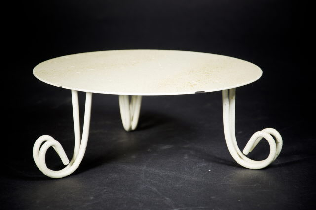 Where to find Cake Stand, Ivory Gold 1 3 4 H x 10 W in Saskatoon