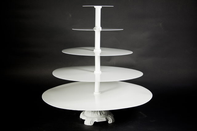Where to find Stand, Cupcake 5 Tier Round White in Saskatoon