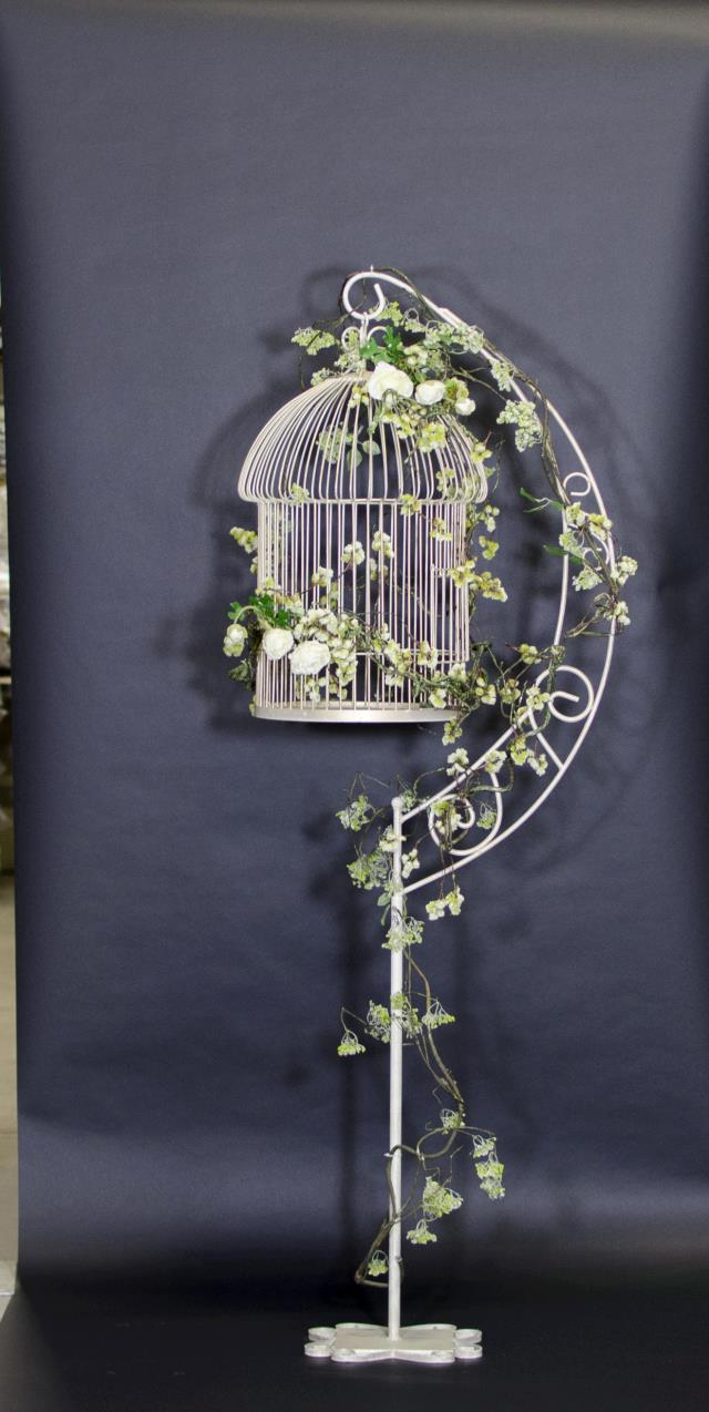 Where to find Bird Cage, On Stand Ivory Gold 2 piece in Saskatoon