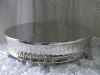 Rental store for Cake Stand, Round Hammered 18 in Saskatoon SK