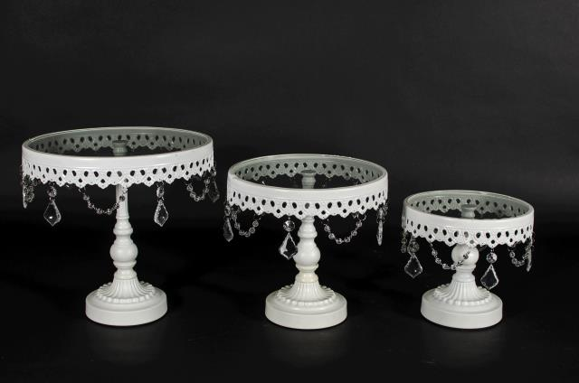 Where to find Cake Stand, 10  White Pedestal in Saskatoon