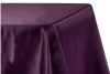 Rental store for Cloth, 90  X 156  Eggplant Satin in Saskatoon SK